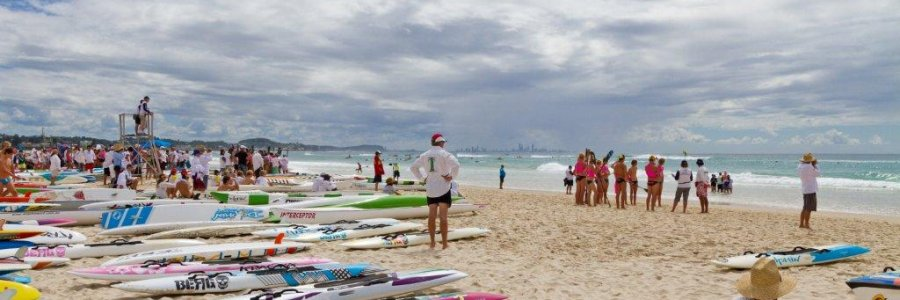 Australian Surf Life Saving Championships At Kirra Beach